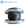 NBR dn 125 oil resistant single bellow elastomeric expansion joints in piping