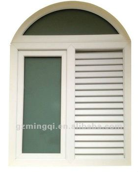 Energy Efficient Pvc Round Top Casement Window Buy Pvc