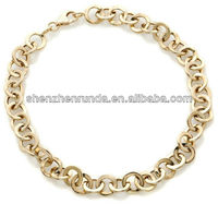 Fine Jewelry Gold Polished Round-Link 8