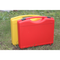 alibaba ningbo manufacturer pp material hard plastic handle carry tool storage box, plastic case