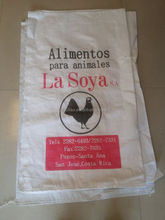 poultry feed packaging bag for chicken feed packaging pp woven bags 50kg bag size