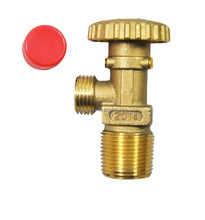 19.8-14LH thread middle east type brass lpg gas stove valve price