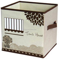 cardboard storage box ,lovely fabric foldable storage cube ,storage organizer