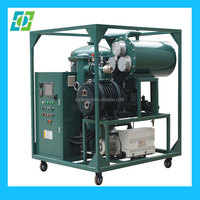 hot selling portable used lubrication oil purification system,lube turbine oil purifier