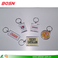 Personalised customized clear acrylic key ring gift for sale