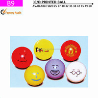 Face bouncy ball