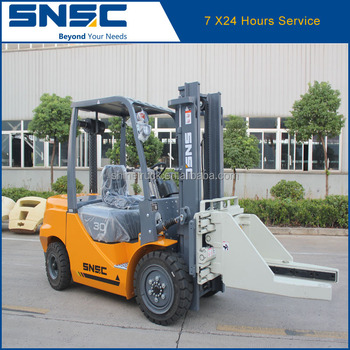 SNSC 3T Forklift With Block Clamp