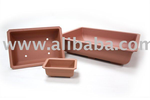 Bonsai Rectangular Pot, Plastic Planter