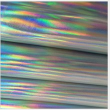 Best selling cheap pu iridescent vinyl for handbags and shoes