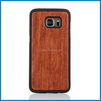 New design Wood+PC back cover case for samsung S7 edge,cheap mobile phone case for samsung galaxy s7 edge,wood phone case