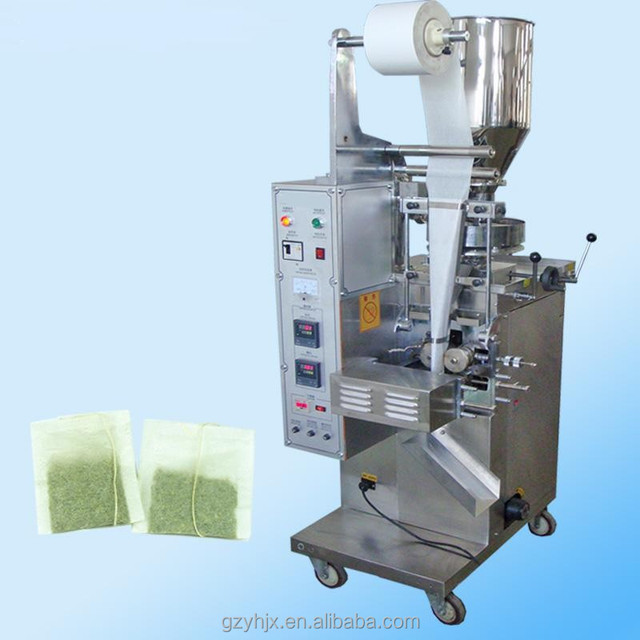 Automatic tea filter paper with thread tea bag packing machine