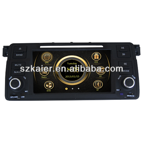 In dash car dvd player for BMW E46 with GPS,TV,Bluetooth,3G,ipod,PIP,Games,Dual Zone,Steering Wheel Control