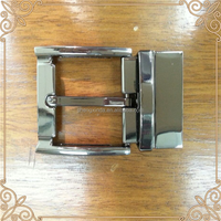 China Supplier Selling Buckles for Belt Zinc Alloy Metal Rotating Tail Clip Pin Buckle