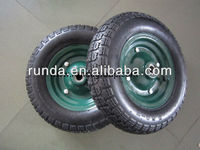 china factory wheelbarrow wheels 350-7