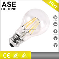 A60 10w LED filament bulb led bulbs with CE