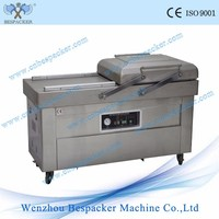 DZ-500 2SB double chamers nitrogen dry fish vacuum packing machine