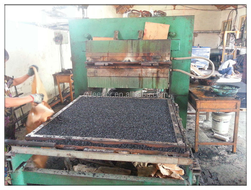 2016 New Technology Rubber Tile Curing Press / Tile Hydraulic Mold