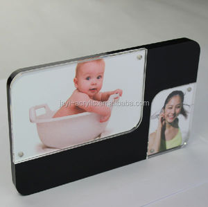Beautiful Baby acrylic lucite plastic Photo picture Frames Album