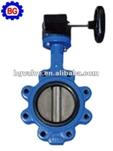 Worm gear Full Lug butterfly valve