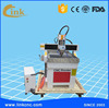 Top quality mini 3d cnc router 0606 0406 0609/1.5kw spindle T-slot table