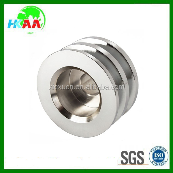 Custom stainless steel round belt pulley
