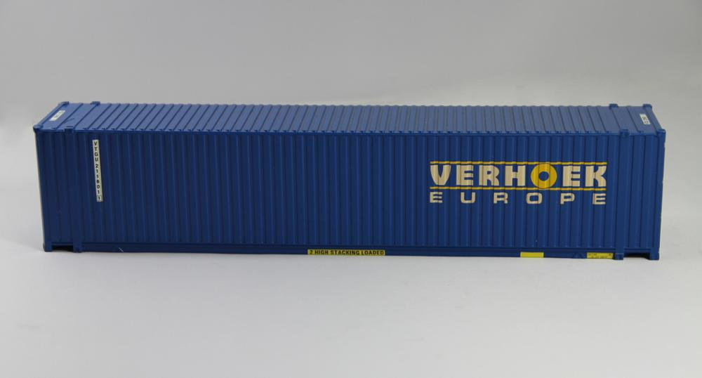 25cm length 1:50 40ft container metal alloy model