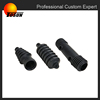 automotive epdm flexible rubber bellow tube