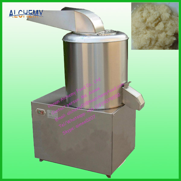 ginger garlic grinder/vegetable paste making machine