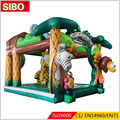 Factory direct supply indoor christmas inflatable bouncer house for sale