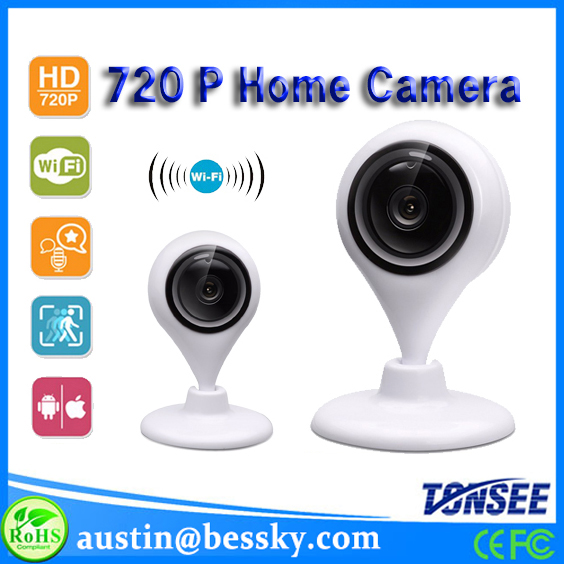 Phone ios CMOS Sensor Security Camera Equipment long distance wireless HD 720P IP Camera baby camera