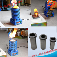 110V 4kg Digital Melting Furnace Kiln for Refining Gold Silver Alloy