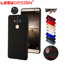 Luxury tpu silicone mobile phone shell case rubber back cover for Huawei mate 9