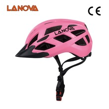 Mountain/Road In-mold Bike Bicycle Helmet With Led Light For Man Woman