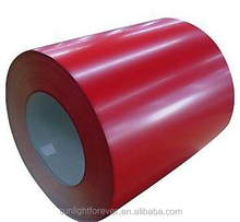Factory iron and steel ppgi color coated galvanized steel coil PPGI / roofing materials
