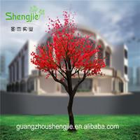 SJLJ013609 artificial cherry blossom tree fake lighted artifical cherry blossom tree led tree