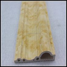 PVC moulding/constructionbaseboard moulding/polyvinyl choride marbled mouldings
