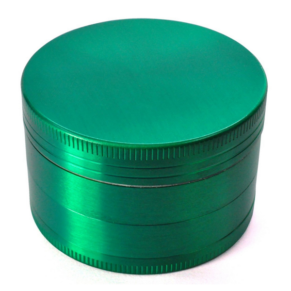 Zinc Green Tobacco Grinder 4 parts Milling Crush Herb Smoking