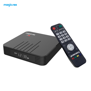 Android 9.0 tv box Amlogic S905X2 Magicsee N5 max android tv box 4gb ram 32gb rom