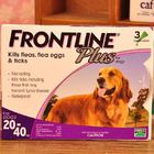 Frontline Plus For Dogs 45-88 lbs 3 Dose