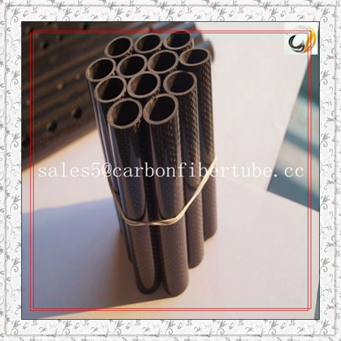 customized 3k carbon fibre tubes roll wrapped carbon tubes
