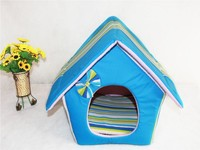 Wholesale pet Waterloo Can unpick and wash more colorful three-piece canvas dog kennel cat litter