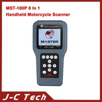 MST-100P 8 In 1 Handheld Motorcycle Scanner Multi-Languages For SYM KYMCO YAM-AHA PGO SUZUKI And Hartford AEON For Honda