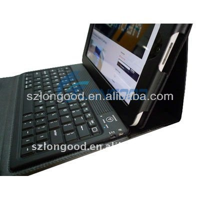 High Quality for Ipad 2 leather case with keyboard