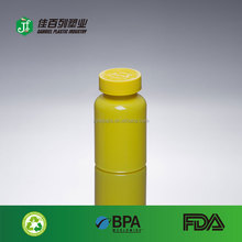 Wholesale new product clear pharmaceutical sex medicine storage pill bottles with child safety cap pet material pill container