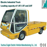 Chinese Electric mini trucks prices , 2000kgs loading capacity, CE approved