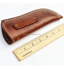 Large Brown Leather Sheath Fits up to 6in Blade Knives