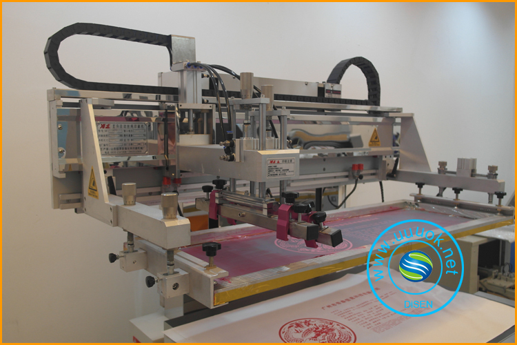 High precision glass screen printer