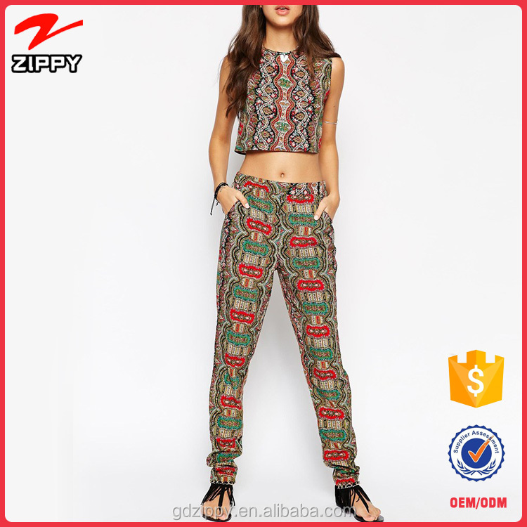 Latest Design Turkish Harem Pants Women Pattern