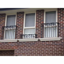 cheap price wrought iron bars for windows