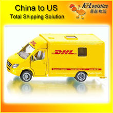 dhl door to door service from China to USA